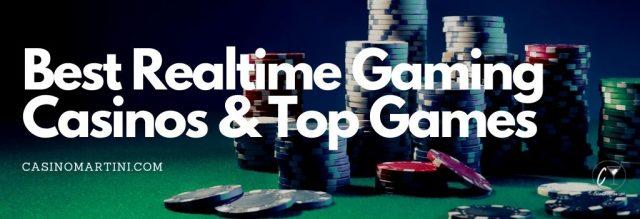 Best Realtime Gaming Casinos & Top Games
